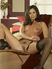 Leggy Lucy Lee has a pussy to die for!