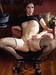 Steph and her black Lingerie