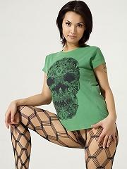 Maria Ozawa Luba Skull T-Shirt