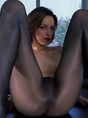 Emily Black Lingerie