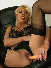 Lana cant resist this guys charms, and then takes his load all over her face