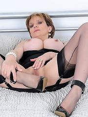 Hot lingerie milf